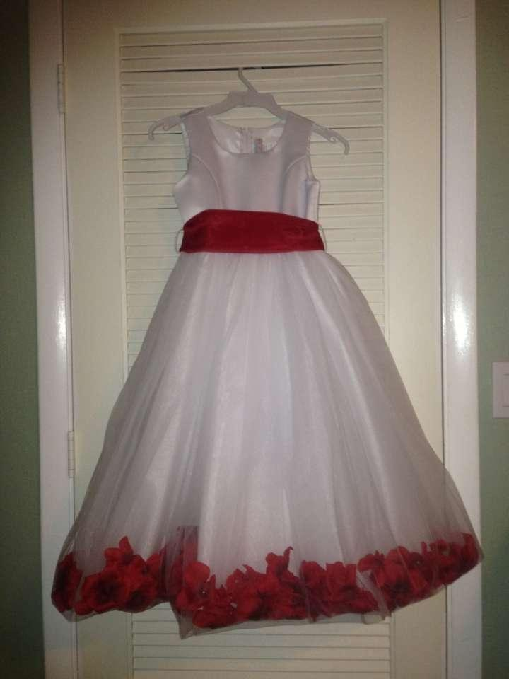 Whitered sash and rose petals flower girl dress tradesy whitered sash and rose petals flower girl dress mightylinksfo