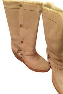 Charlotte Ronson natural Boots