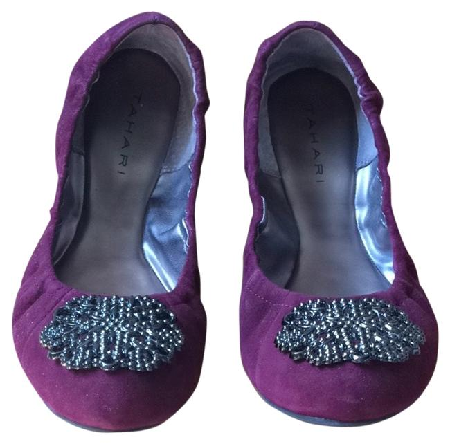 Item - Plum Wine Valerie Flats Size US 8 Regular (M, B)
