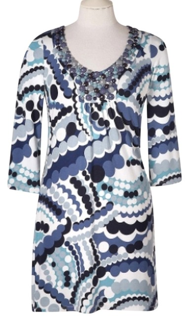 Preload https://img-static.tradesy.com/item/3405787/boden-blue-glam-jersey-tunic-hand-beaded-short-casual-dress-size-2-xs-0-0-650-650.jpg