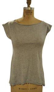 Alice + Olivia Basic T Shirt Heather Grey
