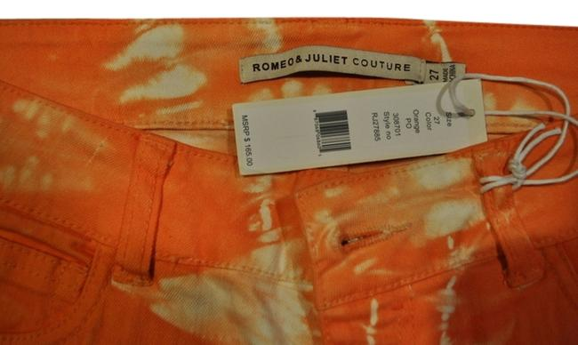 Romeo & Juliet Couture Colored Tie Dye Boho Bohemian Skinny Jeans
