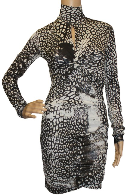 Preload https://img-static.tradesy.com/item/3406081/emilio-pucci-multicolor-brown-creme-long-sleeve-animal-print-wool-mid-length-cocktail-dress-size-6-s-0-2-650-650.jpg