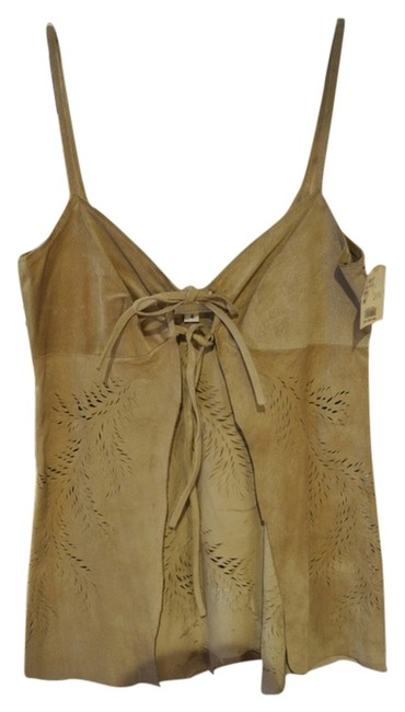 Anna Sui Light Tan/Natural Tunic Size 4 (S) Image 0