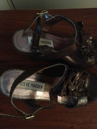 Steve Madden Chocolate Sandals