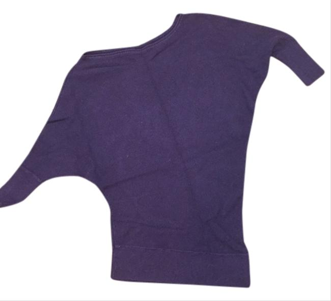 Express Clothing Lilac Plum 3/4 Sweater