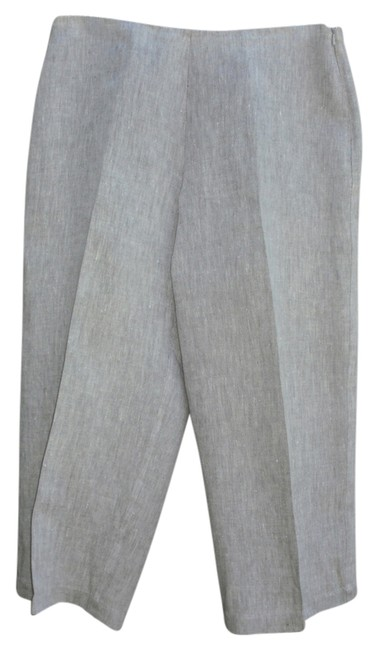 Preload https://item5.tradesy.com/images/eileen-fisher-light-grey-with-white-weave-capris-size-petite-8-m-3407254-0-0.jpg?width=400&height=650
