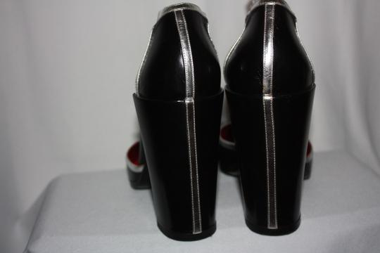 Pierre Hardy And Silver Black Pumps