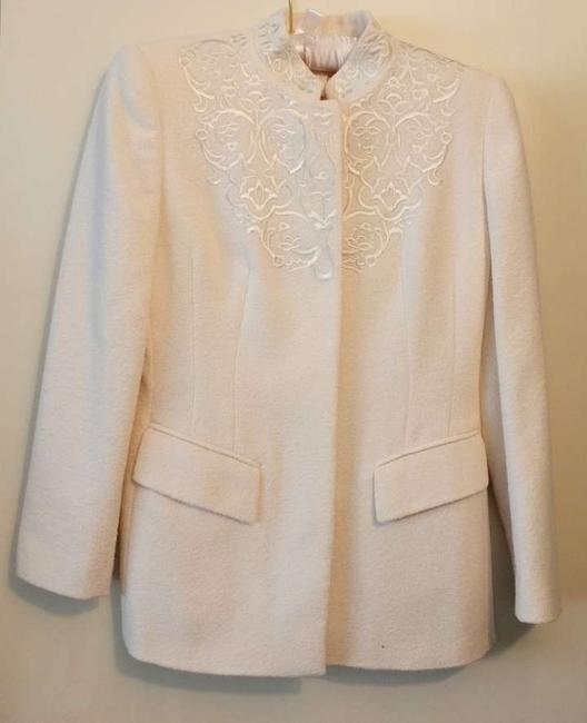 Escada Margueretha Ley Cream Jacket