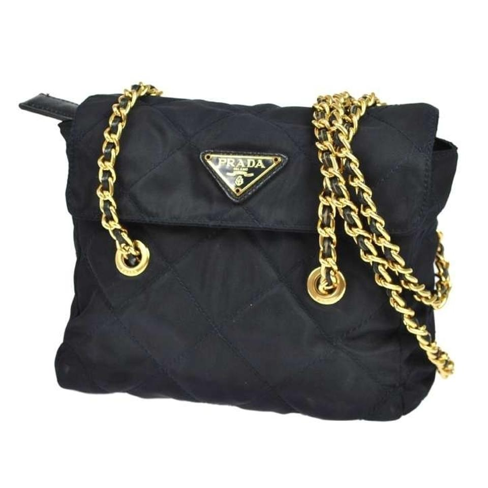 26a0e6deea4 Prada Gold Chain Bag