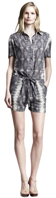 Preload https://img-static.tradesy.com/item/3408007/10-crosby-derek-lam-lizard-print-mini-romperjumpsuit-size-2-xs-0-0-650-650.jpg