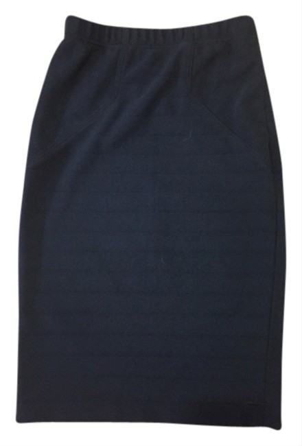 Rachel Roy Pencil Bodycon Fitted Summer Work Date Night Night Out Professional Skirt Black