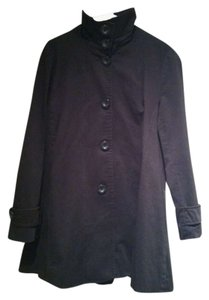 Other Jacket Button Down High Neck Buttons Fall Spring Coat