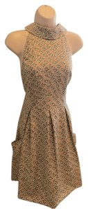 Jessica Simpson short dress Beige on Tradesy