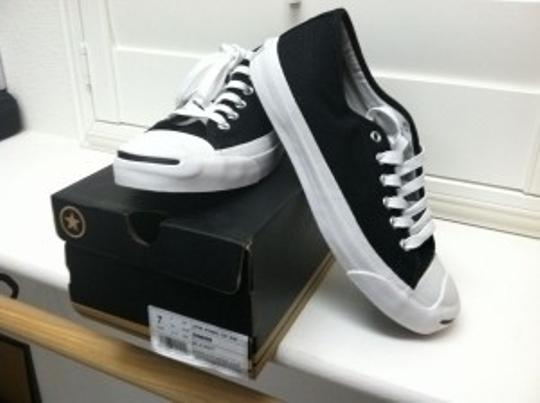 Converse Jack Purcell Low Canvas Classic Sneaker New Black/White Athletic