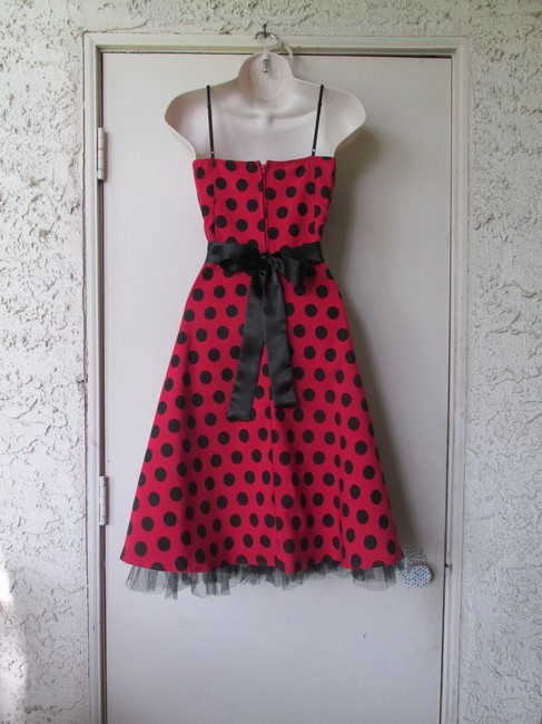 Other short dress Red - Black on Tradesy