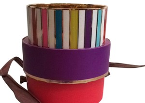 Kate Spade Kate Spade Go To Town Multi Color Idiom Bangle New
