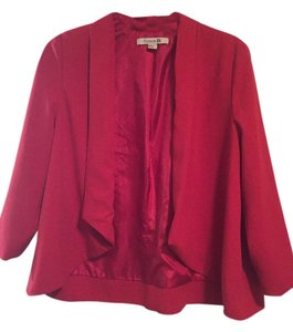 Forever 21 Jacket Night Out Red Blazer
