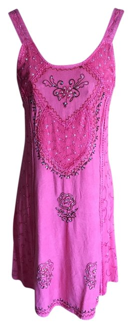 Item - Pink New with Tags Above Knee Short Casual Dress Size 6 (S)