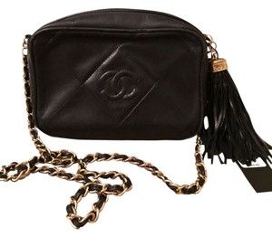 Chanel Dark Camera Shoulder Bag