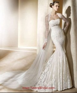 Pronovias Silaba Style 8/54 Wedding Dress