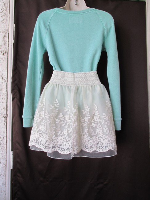 Other Soft Comfortable Stretchy Mini Skirt Ivory