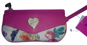 Betsey Johnson Wristlet in pink