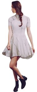 Tina + Jo short dress Marble Work Skater on Tradesy
