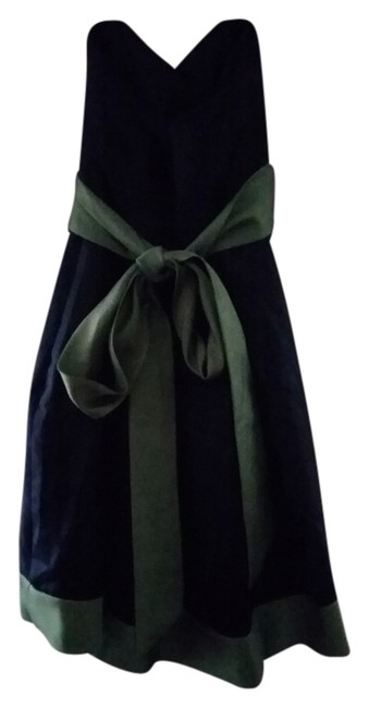 Preload https://item5.tradesy.com/images/alfred-sung-navy-blue-and-green-knee-length-formal-dress-size-4-s-3409234-0-0.jpg?width=400&height=650