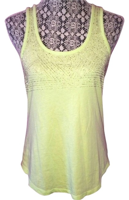 Preload https://item1.tradesy.com/images/madewell-lime-beaded-tank-topcami-size-4-s-3409240-0-0.jpg?width=400&height=650