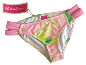 Lilly Pulitzer LILLY PULITZER FOR TARGET Women's Strappy Hipster Bikini Bottom - Fan Dance