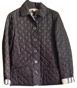 Burberry Brit Burberry Quilted Quilted Burberry Brown Jacket