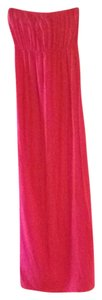 Bright Pink Maxi Dress by Hard Tail