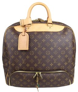 Louis Vuitton Monogram Evasion Carry On Travel Luggage Tote Duffle Monogram Canvas Travel Bag