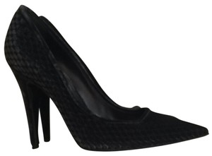 Sergio Rossi Charcoal grey Pumps