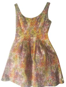 Nine West short dress Floral/Multi Floral Multi Sleeveless on Tradesy