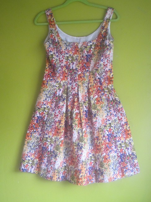 Nine West short dress Floral/Multi Sleeveless on Tradesy