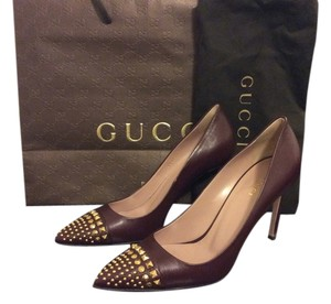 Gucci Deep plum Pumps