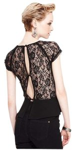 MM Couture Stunning Romantic One-of-a Kind Timeless Elegant Top