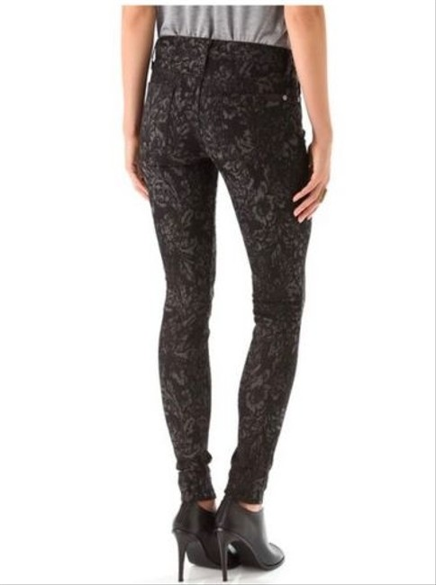 7 For All Mankind Skinny 25 Jeggings-Dark Rinse