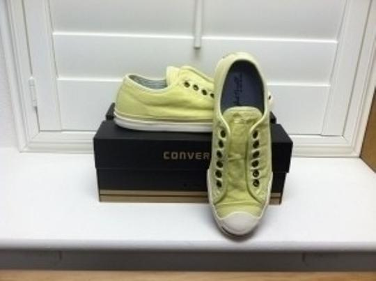 Converse Jack Purcell Low Profile Slip Canvas Slip On Classic Casual Tender Yellow Athletic