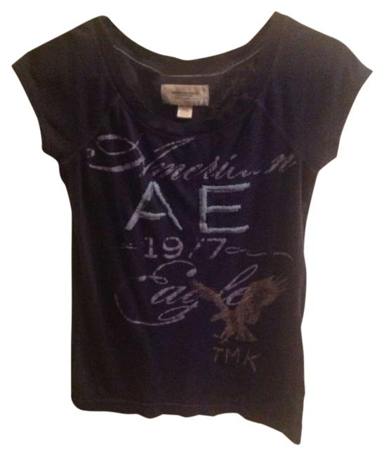American Eagle Outfitters T Shirt Navy