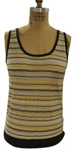 M Missoni Top Gray, yellow, white, pink, pale blue