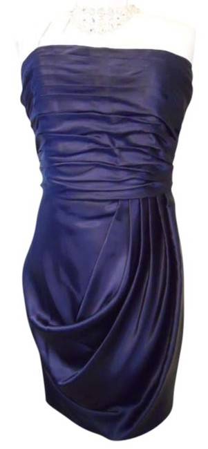 Preload https://item4.tradesy.com/images/david-s-bridal-navy-strapless-knee-length-cocktail-dress-size-8-m-341288-0-0.jpg?width=400&height=650