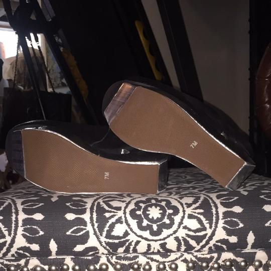 Jeffrey Campbell Black And Silver Mules