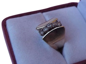 Other 14K Yellow gold .75ct VS/F Diamonds Wedding Ring