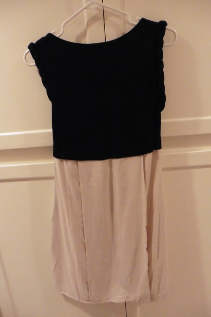 Dorothy Lee short dress Black and Taupe on Tradesy