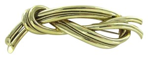 Tiffany & Co. TIFFANY & CO. 18K GOLD PIN BROOCH KNOT MADE IN ITALY 19.5oz VINTAGE COLLECTORS
