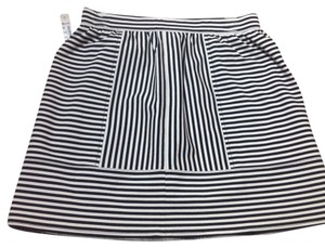 Madewell Skirt Striped Navy