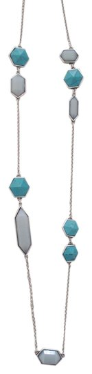 Preload https://img-static.tradesy.com/item/3413740/lucky-brand-silver-and-turquoise-silver-tone-geometric-necklace-0-0-540-540.jpg